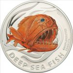 Pitcairn Islands - 2011 - 2 Dollars - Deep Sea Fish Cornuta (PROOF)
