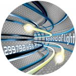 Niue - 2016 - 2 Dollars - Speed of Light / Code of the Future
