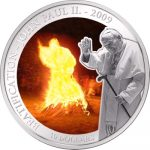 Samoa - 2009 - 5 Dollars - The Miracle Of Pope JP II (PROOF)