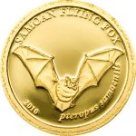 Samoa - 2010 - 10 Dollars - Flying Fox GOLD (PROOF)