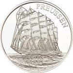 Samoa - 2010 - 10 Dollars - Preussen Windjammer (PROOF)