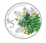 Singapore - 2015 - 5 Dollars - Native Orchids of Singapore DENDROBIUM LEONIS  (PROOF)