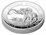 Somalia - 2016 - 100 Shilling - African Wildlife High Relief (PROOF)