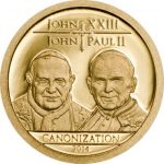 Tanzania - 2014 - 1500 Shillings - Canonization of the Popes GOLD (PROOF)