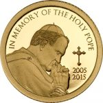 Tanzania - 2015 - 1500 Shillings - In Memory of the Holy Pope Gold  (PROOF)