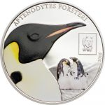 Tanzania - 2016 - 100 Shillings - WWF 2016 EMPEROR PENGUIN (including box) (PROOF)