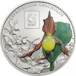 Tanzania - 2016 - 100 Shillings - WWF 2016 LADYS SLIPPER ORCHID (including packaging) (PROOF)
