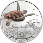 Tanzania - 2016 - 100 Shillings - WWF 2016 GREEN SEA TURTLE (including packaging) (PROOF)