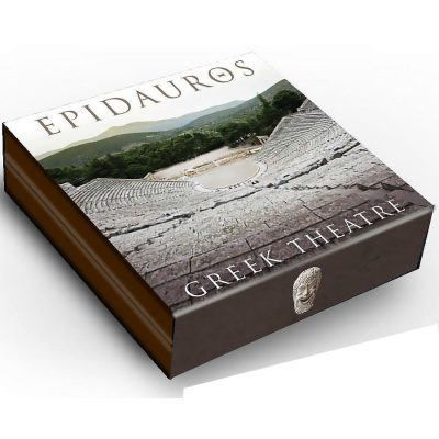 Niue - 2016 - 7 Dollars - Epidaurus Greek Theatre