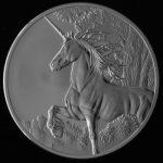 Tokelau - 2014 - 5 Dollars - Year of the Horse UNICORN ANTIQUE (ANTIQUE)
