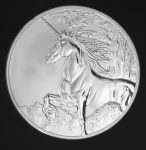 Tokelau - 2014 - 5 Dollars - Year of the Horse UNICORN REVERSE PROOF (PROOF)