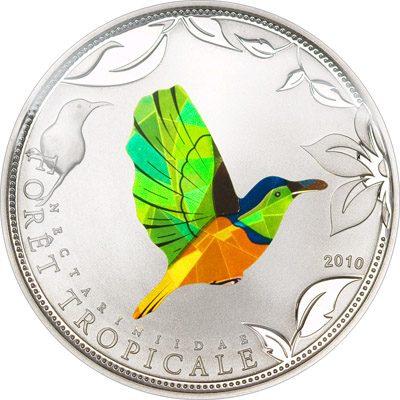 Togo - 2010 - 100 Francs - Prisma Sunbirds Green (PROOF)