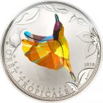 Togo - 2010 - 100 Francs - Prisma Sunbirds Yellow (PROOF)