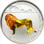 Togo - 2011 - 1000 Francs - Prisma Savanne LION (PROOF)