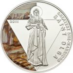 Togo - 2011 - 500 francs - She-Warriors SAINT OLGA (PROOF)