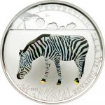 Togo - 2011 - 100 Francs - Prisma Savanne ZEBRA (PROOF)