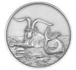 Tokelau - 2015 - 5 Dollars - Creatures of Myth and Legend CAPRICORNUS ANTIQUE (ANTIQUE)