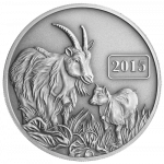 Tokelau - 2015 - 5 Dollars - Year of the Goat ANTIQUE (ANTIQUE)
