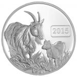 Tokelau - 2015 - 5 Dollars - Year of the Goat PROOF (PROOF)