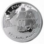 Tuvalu - 2014 - 1 dollar - Famous Ships That Never Sailed THE JOLLY ROGER (PROOF)