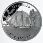 Tuvalu - 2013 - 1 Dollar - Famous Ships That Never Sailed THE DEMETER (PROOF)