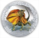 Tuvalu - 2013 - 1 dollar - Remarkable Reptiles LIZARD (PROOF)