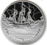 Tuvalu - 2013 - 1 Dollar - Famous Ships That Never Sailed THE FLYING DUTCHMAN (PROOF)