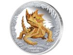 Tuvalu - 2014 - 1 Dollar - Remarkable Reptiles THORNY DEVIL LIZARD (PROOF)