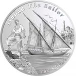 Tuvalu - 2015 - 1 Dollar - Ships That Never Sailed THE CHIMERA (PROOF)