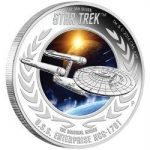 Tuvalu - 2015 - 1 Dollar - Star Trek U.S.S. ENTERPRISE NCC-1701 (PROOF)