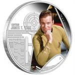 Tuvalu - 2015 - 1 Dollar - Star Trek Captain James T. Kirk (PROOF)