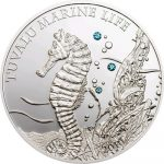 Tuvalu - 2010 - 1 Dollar - Sea Horse (PROOF)