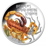 Tuvalu - 2014 - 1 dollar - Deadly and Dangerous SCORPION (PROOF)