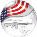 USA - 2010 - 2 Dollars (Mesa Grande) - Colt M16 Rifle (PROOF)
