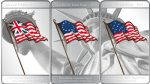 USA - 2010 - 3x 5 Dollars (Mesa Grande) - Flags of America (PROOF)