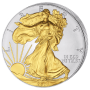 USA - 2014 - 1 Dollar - Eagle 1oz Gilded (PROOF)