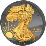 USA - 2015 - 1 Dollar - Golden Enigma WALKING LIBERTY (PROOF)