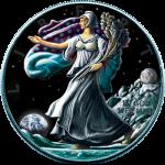 USA - 2016 - 1 Dollar - Ounce of Space MOON (BU)