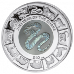 British Virgin Islands - 2013 - 10 dollar - Year of the Snake (PROOF)