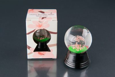 Cook Islands - 2017 - 1 Dollar - Cherry Blossom Globe