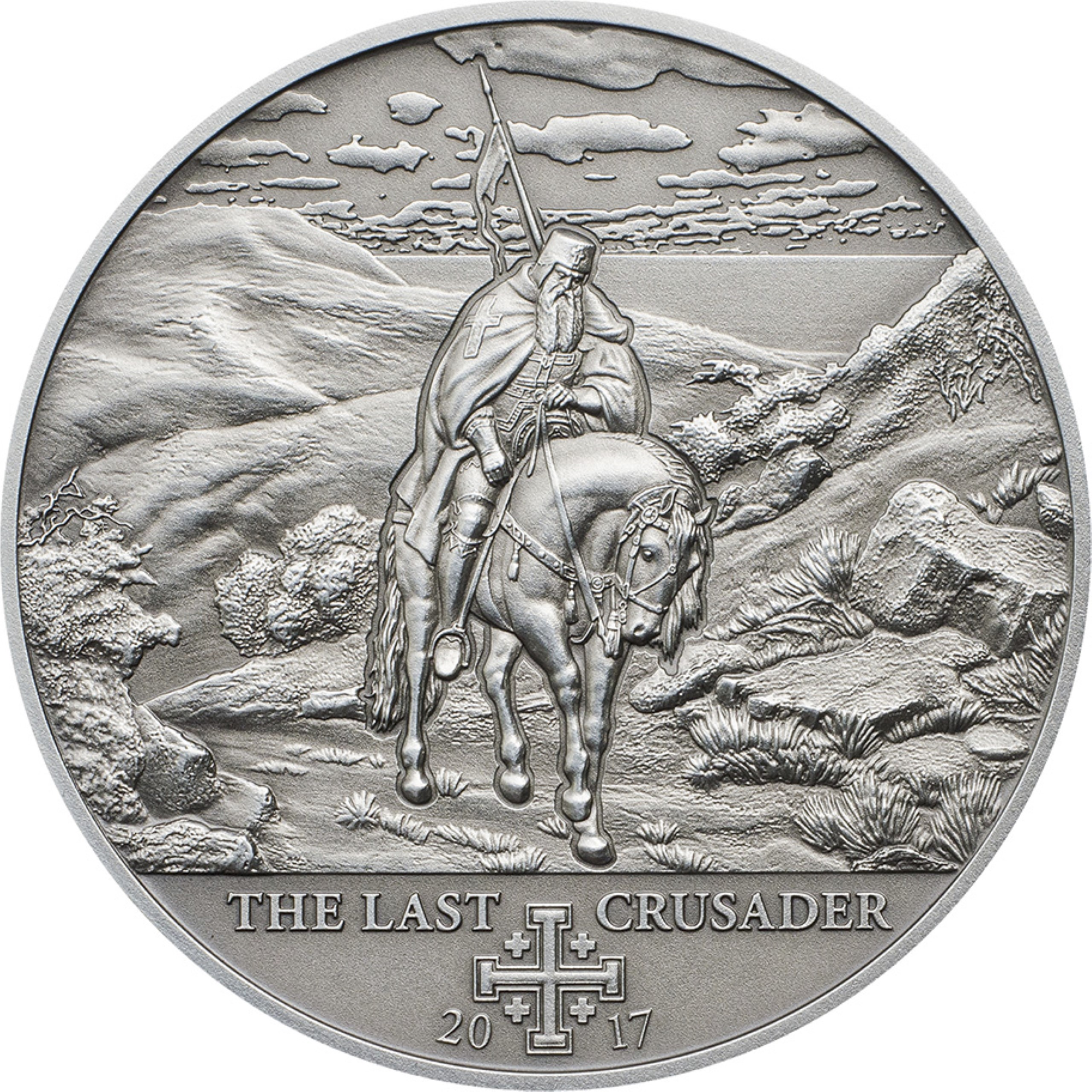 Cook Islands - 2017 - 5 Dollars - History of the Crusades THE LAST CRUSADER (10th Crusade)