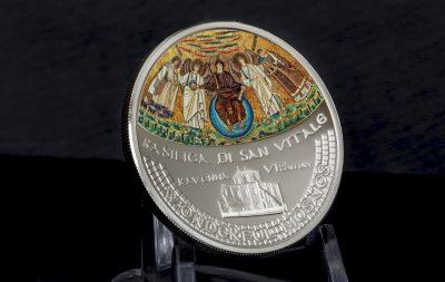Cook Islands - 2017 - 5 Dollars - Wonderful Mosaics BASILICA SAN VITALE