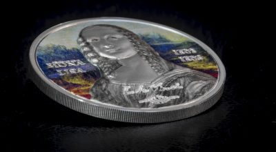 Palau - 2017 - 5 Dollars - Art Revived MONA LISA