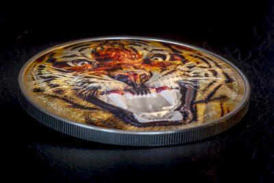 Tanzania - 2017 - 1500 Shillings - Rare Wildlife ROYAL BENGAL TIGER