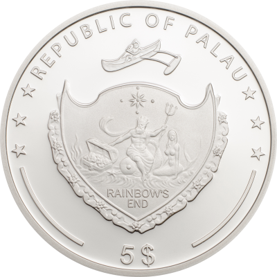 Palau - 2018 - 5 Dollars - Ounce of Luck 2018 (incl box)