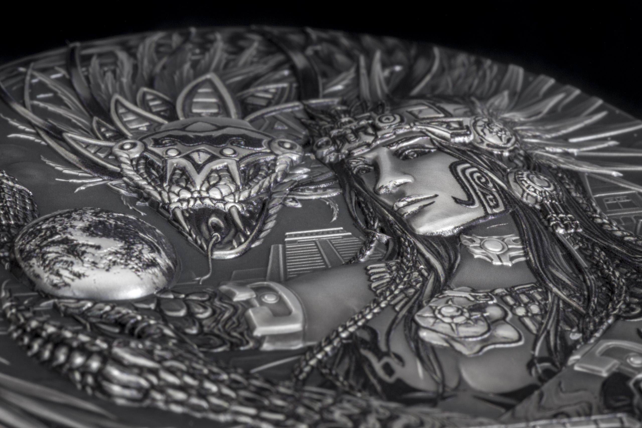 Cook Islands - 2017 - Gods Of The World QUETZALCOATL Aztec ...  Cook Islands - ...