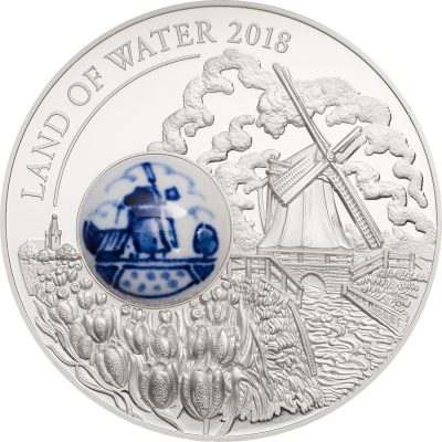 Cook Islands - 2018 - 10 Dollars - Royal Delft Land of Water