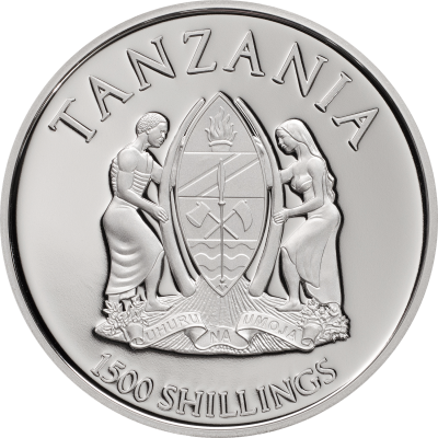 Tanzania - 2018 - 1500 Shillings - Chimera Mythical Animals