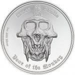 Palau - 2016 - 3x 5 Dollars - Lunar Skulls: Year of the Monkey SET (1 PRF + 2 BU)