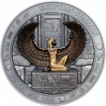 Palau - 2016 - 20 Dollars - Egyptian Symbols WINGED ISIS